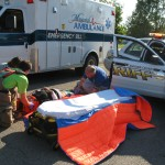 County wide ambulance services were called in